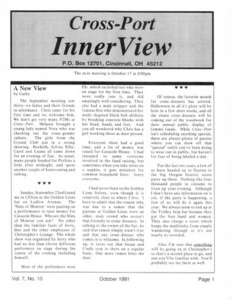 Cross-Port InnerView, Vol. 7 No. 10 (October, 1991)