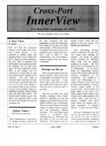 Cross-Port InnerView, Vol. 8 No. 7 (July, 1992)