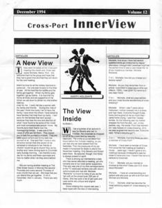 Cross-Port InnerView, Vol. 10 No. 12 (December, 1994)