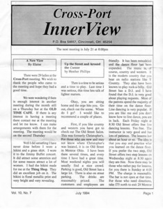 Cross-Port InnerView, Vol. 10 No. 7 (July, 1994)
