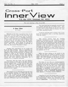 Cross-Port InnerView, Vol. 5 No. 5 (May, 1989)