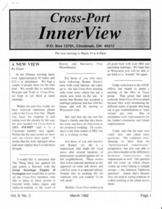 Cross-Port InnerView, Vol. 8 No. 3 (March, 1992)