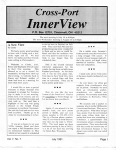 Cross-Port InnerView, Vol. 7 No. 7 (July, 1991)
