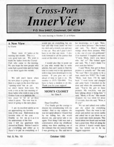 Cross-Port InnerView, Vol. 9 No. 10 (October, 1993)