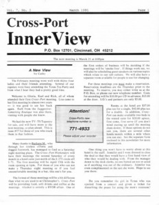 Cross-Port InnerView, Vol. 7 No. 3 (March, 1991)