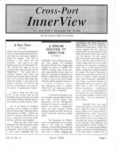Cross-Port InnerView, Vol. 9 No. 3 (March, 1993)