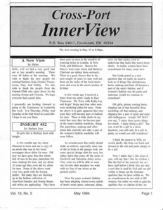 Cross-Port InnerView, Vol. 10 No. 5 (May, 1994)