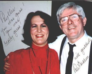 Phyllis Frye and Phil Donahue