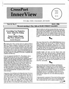 Cross-Port InnerView, Vol. 12 No. 5 (May, 1996)