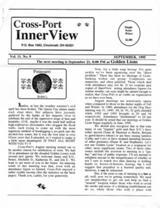 Cross-Port InnerView, Vol. 11 No. 9 (September, 1995)