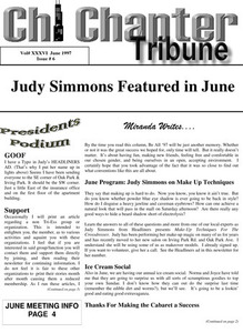 Chi Chapter Tribune Vol. 36 Iss. 06 (June, 1997)
