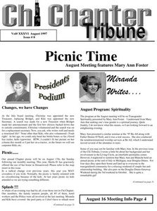 Chi Chapter Tribune Vol. 36 Iss. 08 (August, 1997)