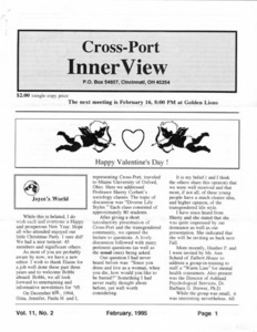 Cross-Port InnerView, Vol. 11 No. 2 (February, 1995)