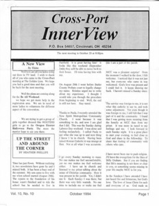 Cross-Port InnerView, Vol. 10 No. 10 (October, 1994)