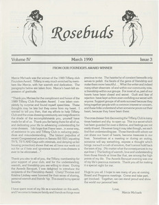 Rosebuds Vol. 4 No. 3 (March, 1990)