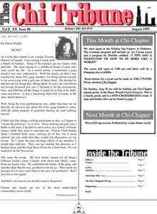 The Chi Tribune Vol. 20 Iss. 08 (August, 1995)