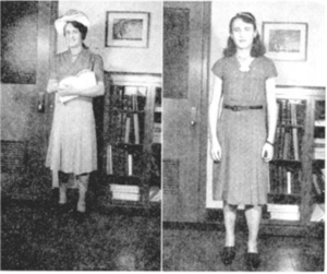 Mildred M. Medical File Photo (1942) (2)