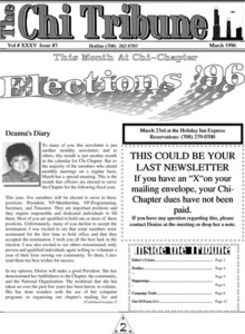 The Chi Tribune Vol. 35 Iss. 03 (March, 1996)