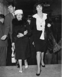 April Ashley with Mother, Ada Jamieson, London (May 11, 1962)