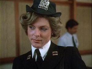 Christopher Morley Portraying Policewoman in Magnum P.I.