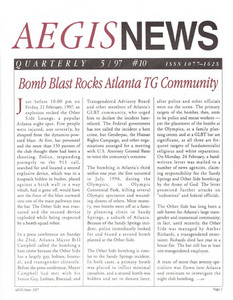 AEGIS News, No. 10 (May, 1997)