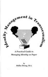 Identity Management in Transsexualism: A Practical Guide to Managing Identity on Paper