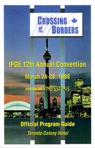 Crossing Borders: IFGE 12th Annual Convention Program Cover Pages