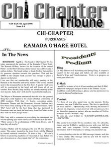 Chi Chapter Tribune Vol. 37 Iss. 04 (April, 1998)