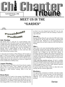 Chi Chapter Tribune Vol. 37 Iss. 07 (July, 1998)