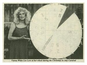 Crystal Rae Lee Love at the 1997 Christmas in July Carnival