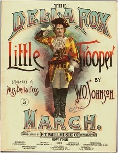 The Della Fox Little Trooper March