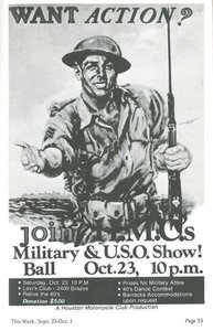 Want Action? Join H.M.C.s Military Ball & U.S.O Show!