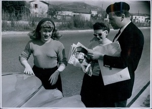 Roberta Cowell and Lisa Morrell in Nice (1954)