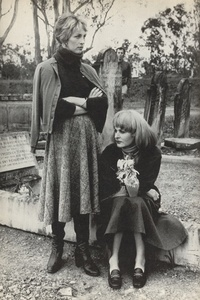 Mel and Pearl in Cemetery