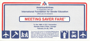 American Airlines - I.F.G.E. Exclusive Meeting Saver Fare