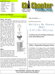 Chi Chapter Tribune Vol. 38 Iss. 09 (September, 1999)