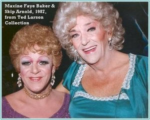 Maxine Faye Baker and Skip Arnold