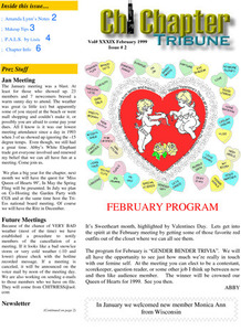 Chi Chapter Tribune Vol. 39 Iss. 02 (February, 1999)