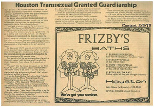 Houston Transsexual Granted Guardianship