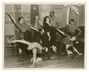 Bobby Lake and Unidentified Dancers in Jewel Box Revue