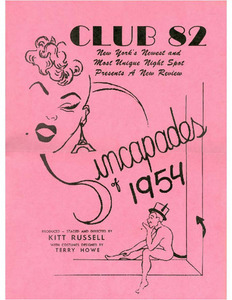 Club 82 Presents Sincapades of 1954