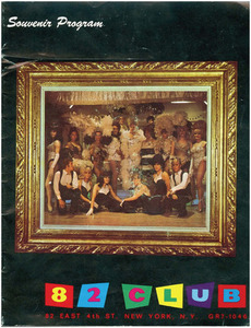 The 82 Club Souvenir Program (1969)