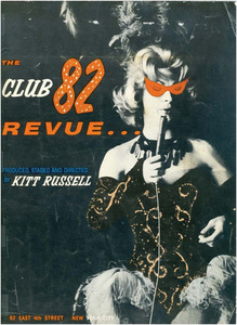 The Club 82 Revue... Program