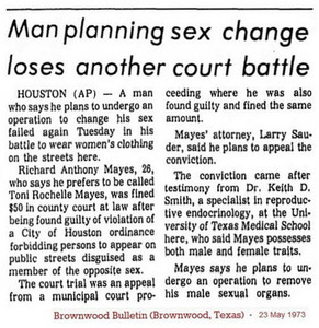 Man Planning Sex Change Loses Another Court Battle