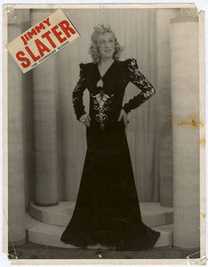 Jimmy Slater: The Incendiary Blonde
