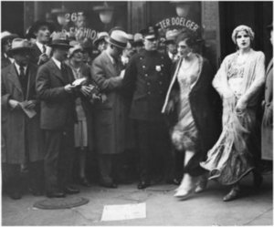 Members of Mae West Show Being Arrested