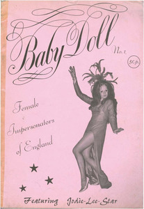 Baby Doll No. 1 Female Impersonators of England Featuring Jodie-Lee-Star (December 1972)