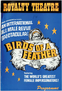 Birds of a Feather Featuring The World's Greatest Female Impersonators! Programme