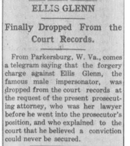 Ellis Glenn Finally Dropped From the Court Records