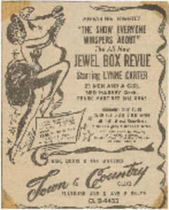 The All New Jewel Box Revue Starring Lynne Carter
